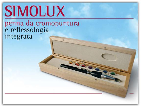 Penna da Cromopuntura e Reflessologia Integrata Simolux Big