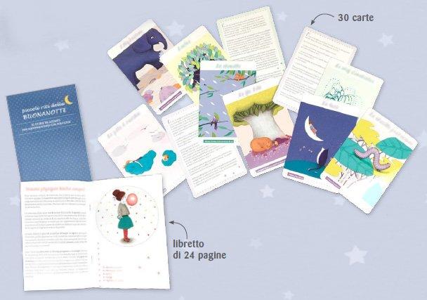 Piccoli Riti della Buonanotte - Cofanetto con 30 carte illustrate e libretto di accompagnamento