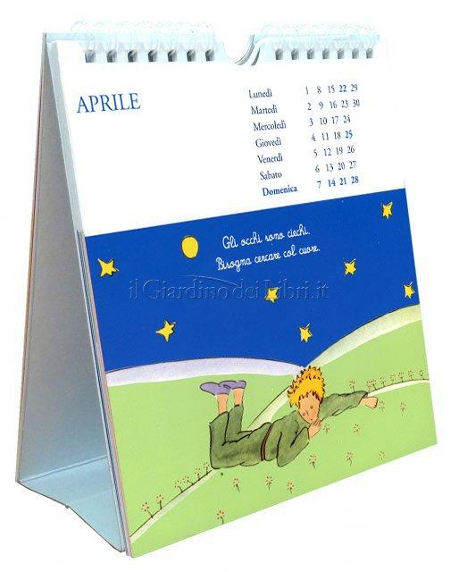 Il Piccolo Principe - Calendario da Tavolo con Cartoline 2019 - Interno