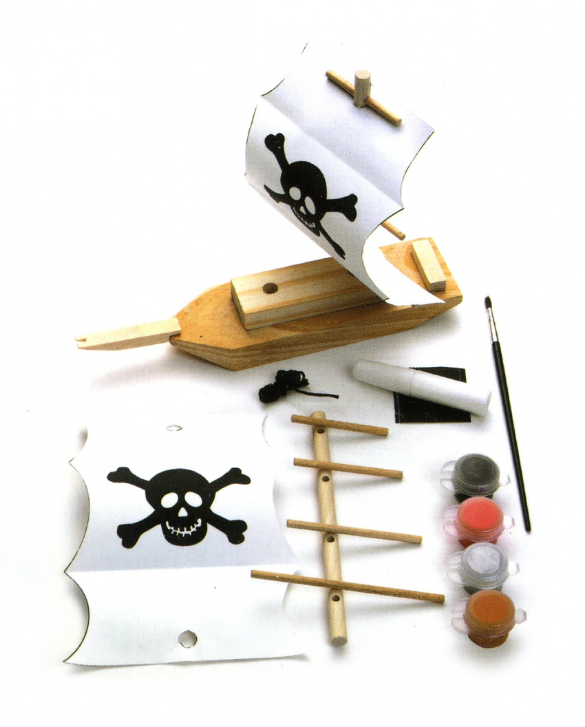 Nave Pirata da Costruire