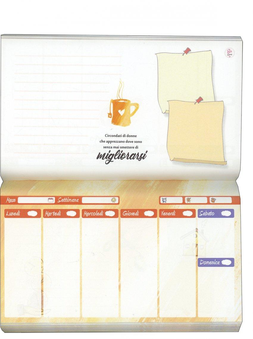 Planner pagine interne gialle