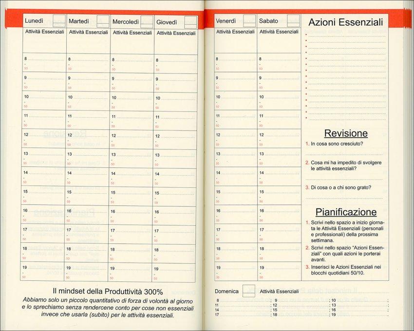 Planner Produttività 300% - Interno