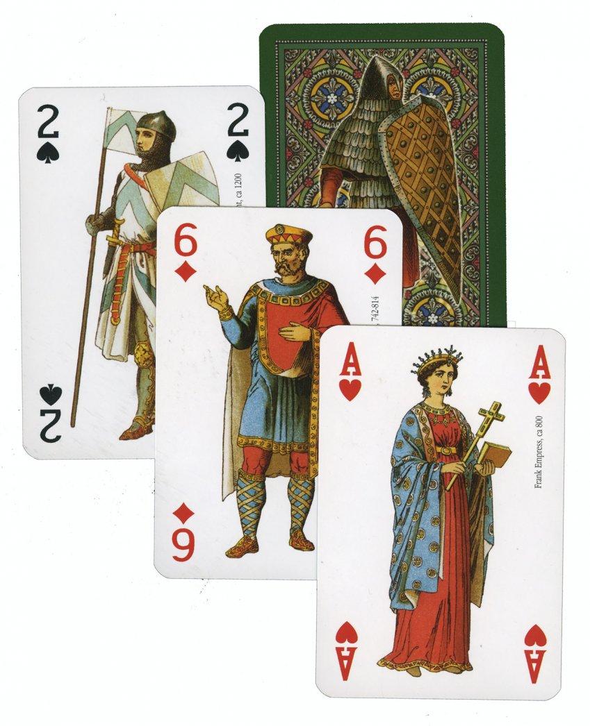 Medioevo - Carte da Gioco