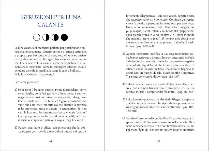 Il Quaderno della Luna - Interno