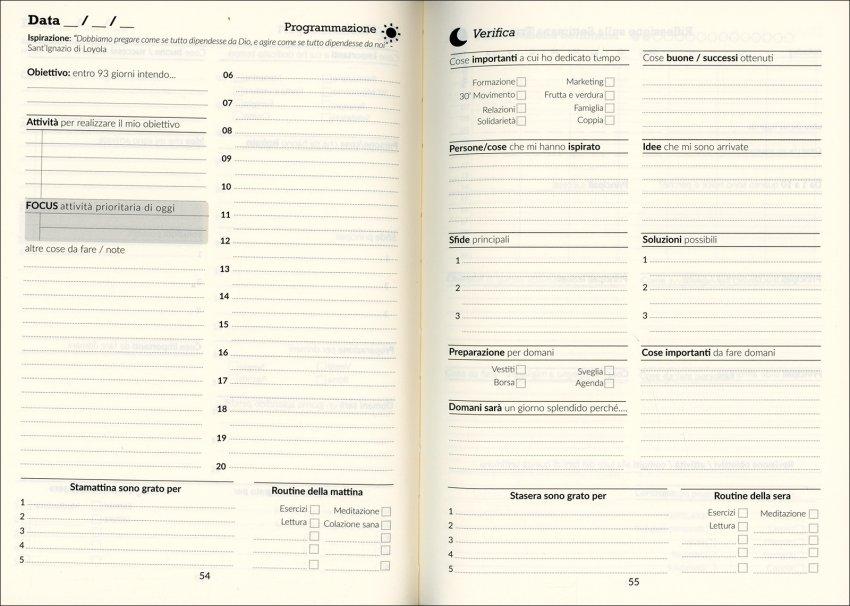 Agenda Realizza Daily 100 - pagine interne