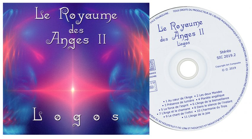 Le Royaume des Anges II - interno CD