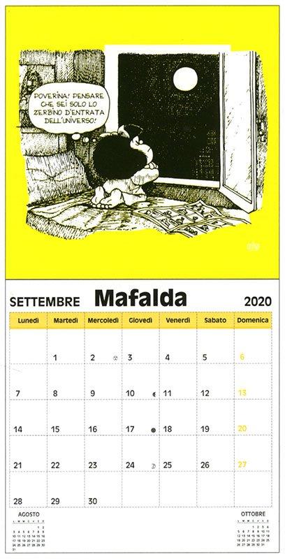 Mafalda - Calendario da Parete 2020