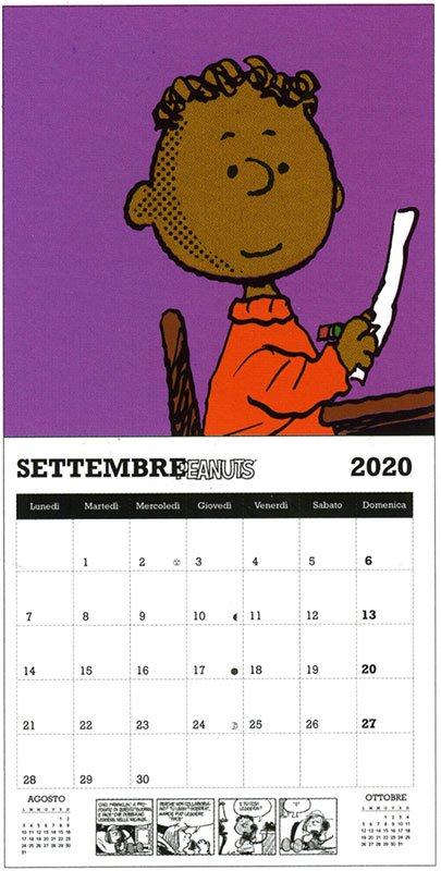 Peanuts - Calendario da Parete 2020 - Interno