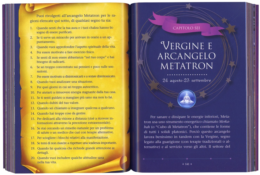 Angel Astrology Vergine