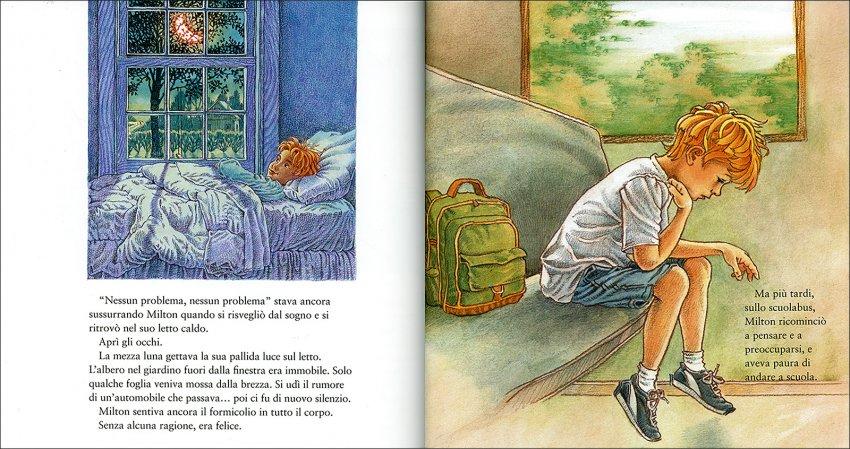 Il Segreto di Milton - pagine interne del libro