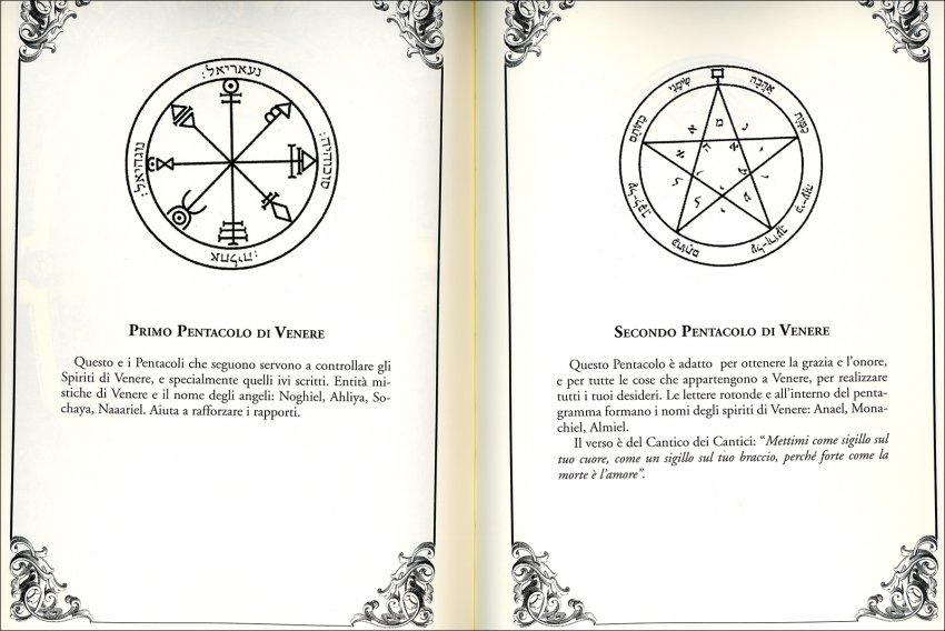 I Sigilli di Re Salomone - libro aperto
