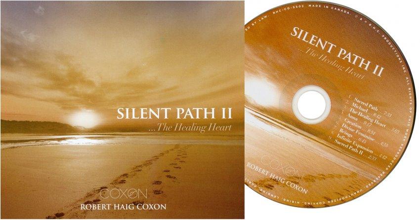 Silent Path II - copertina e CD