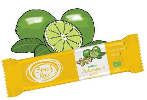 Simply Raw - Barretta con Pistacchio e Lime