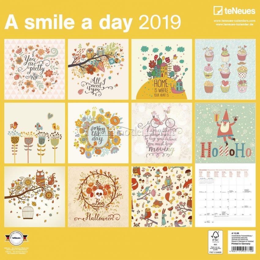 Calendario a Smile a Day 2019 - Retro