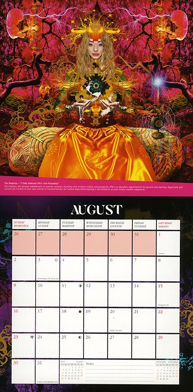 Starman.- Calendario 2020 - Retro