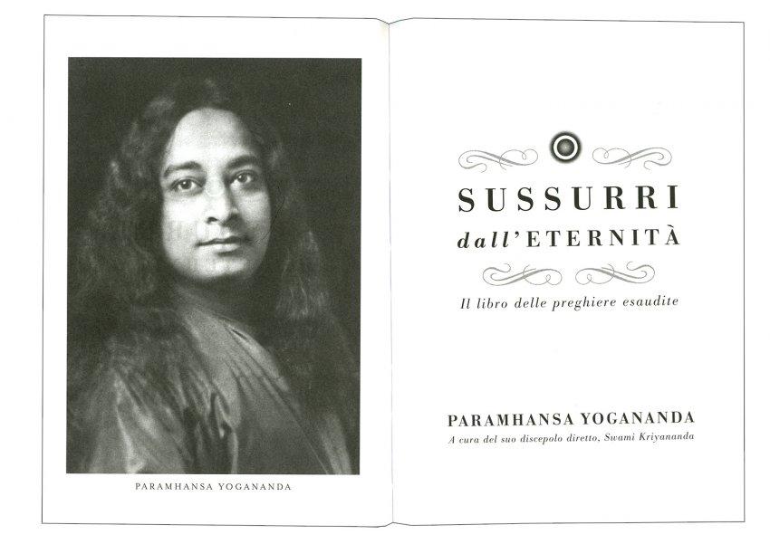 Sussurri dall'Eternità - Frontespizio dell'edizione tascabile