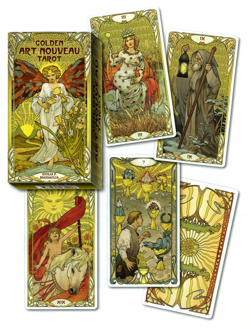 Tarocchi Art Nouveau Golden - Carte