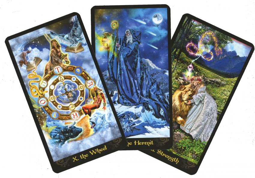 Tarocchi Illuminati - carte