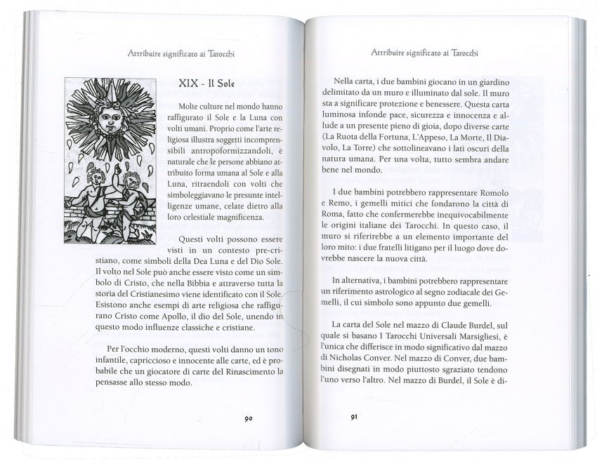 I Tarocchi Marsigliesi - Libro