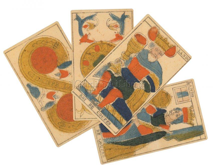 Tarocchi di Marsiglia Lando 1832 - Box Deluxe - Carte+