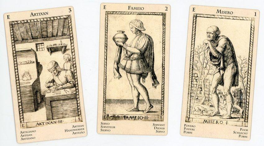 Tarocchi Mantegna Ladenspelder 1540 Art Box