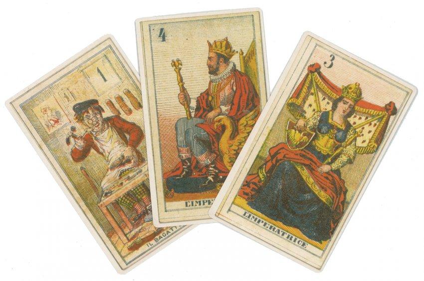 Tarocchi Perrin 1865 - Deluxe - carte
