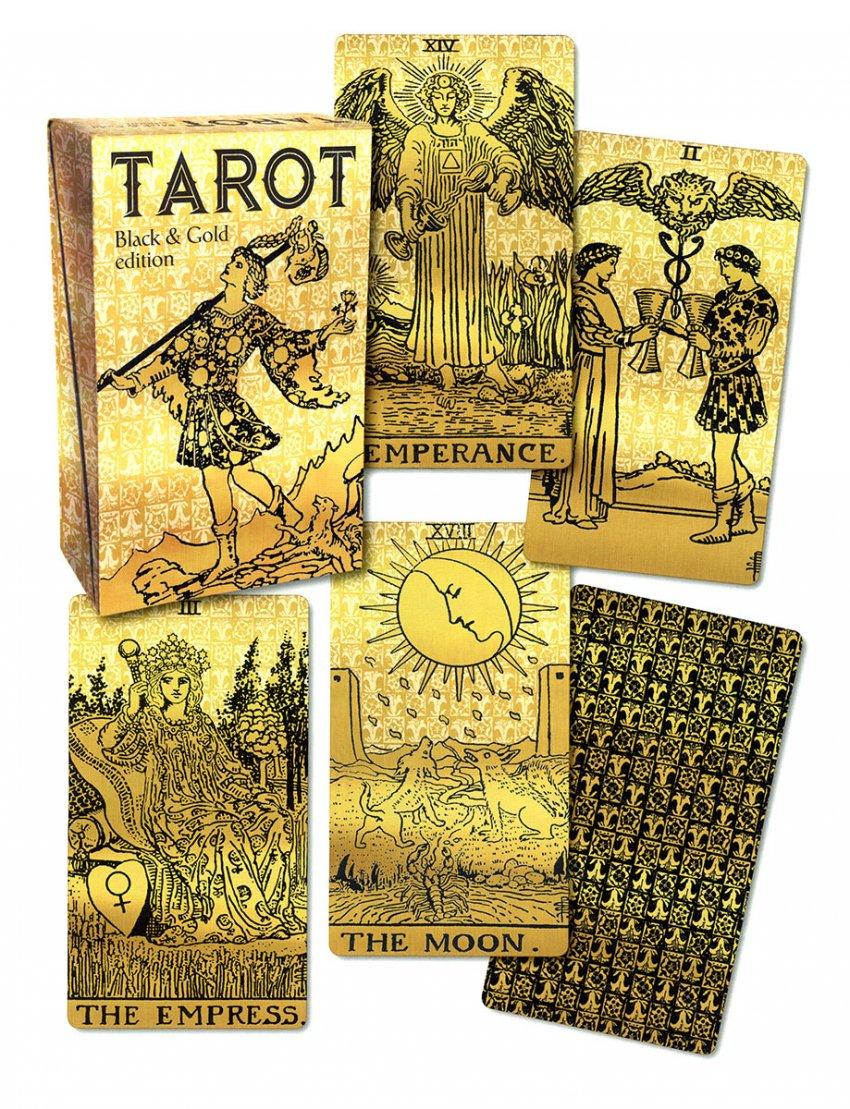 Tarot Black & Gold - Tarocchi Neri e Oro
