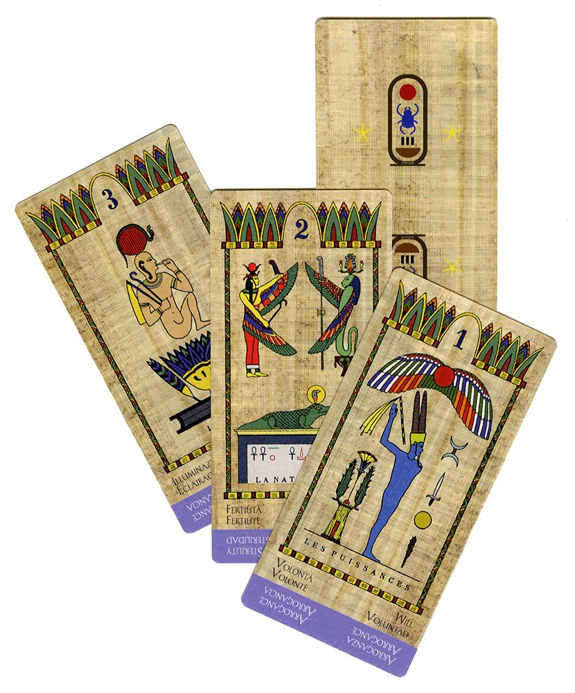 Tarot Égyptien - Tarocchi Egizi - Carte