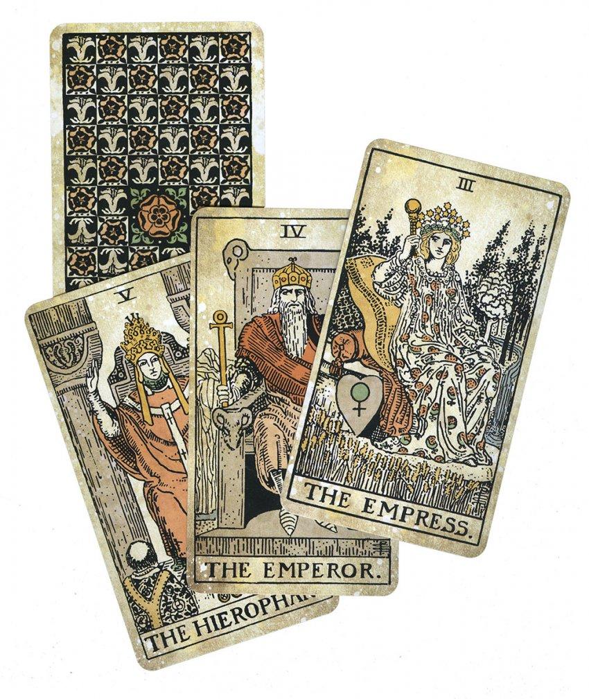 Tarot Vintage - Carte