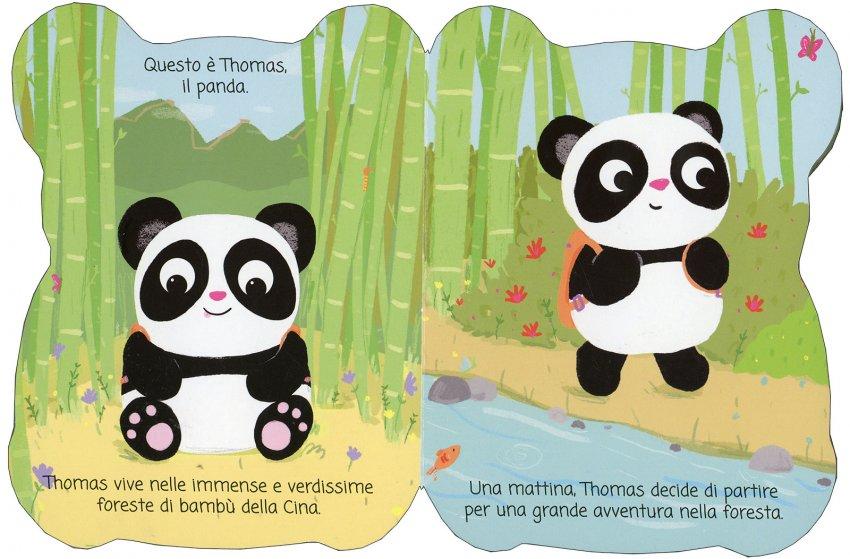 Thomas il Panda - pagine interne