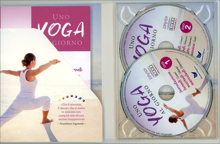 Uno Yoga al Giorno (Libro + 2 DVD) - interno