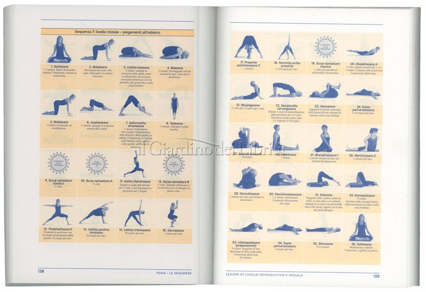 Le Sequenze Yoga - Volume 2 - Interno