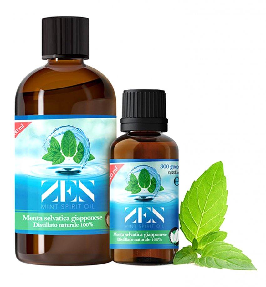 Zen Mint Spirit Oil - Menta Selvatica Giapponese Formato 10 ml