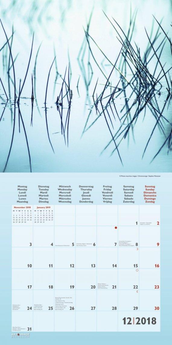 Calendario Zen 2018