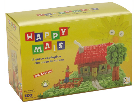Happy Mais Scatola Media - Casetta