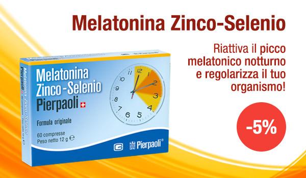 Sconto 5% - Melatonina Zinco-Selenio