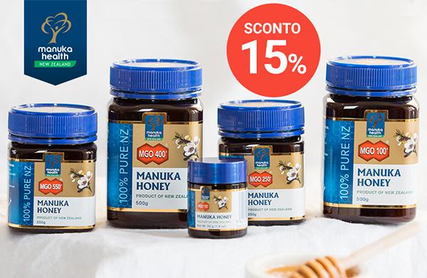 Approfitta dello Sconto del 15% sul Miele di Manuka
