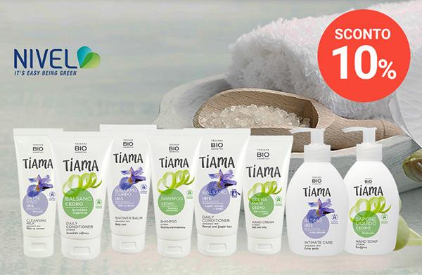 Sconto 10% sulla cura del corpo di Tiama Toscana Bio Cosmetics