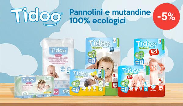 Sconto 5% - Pannolini Tidoo