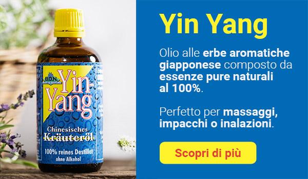Yin Yang Olio Vegetale Giapponese