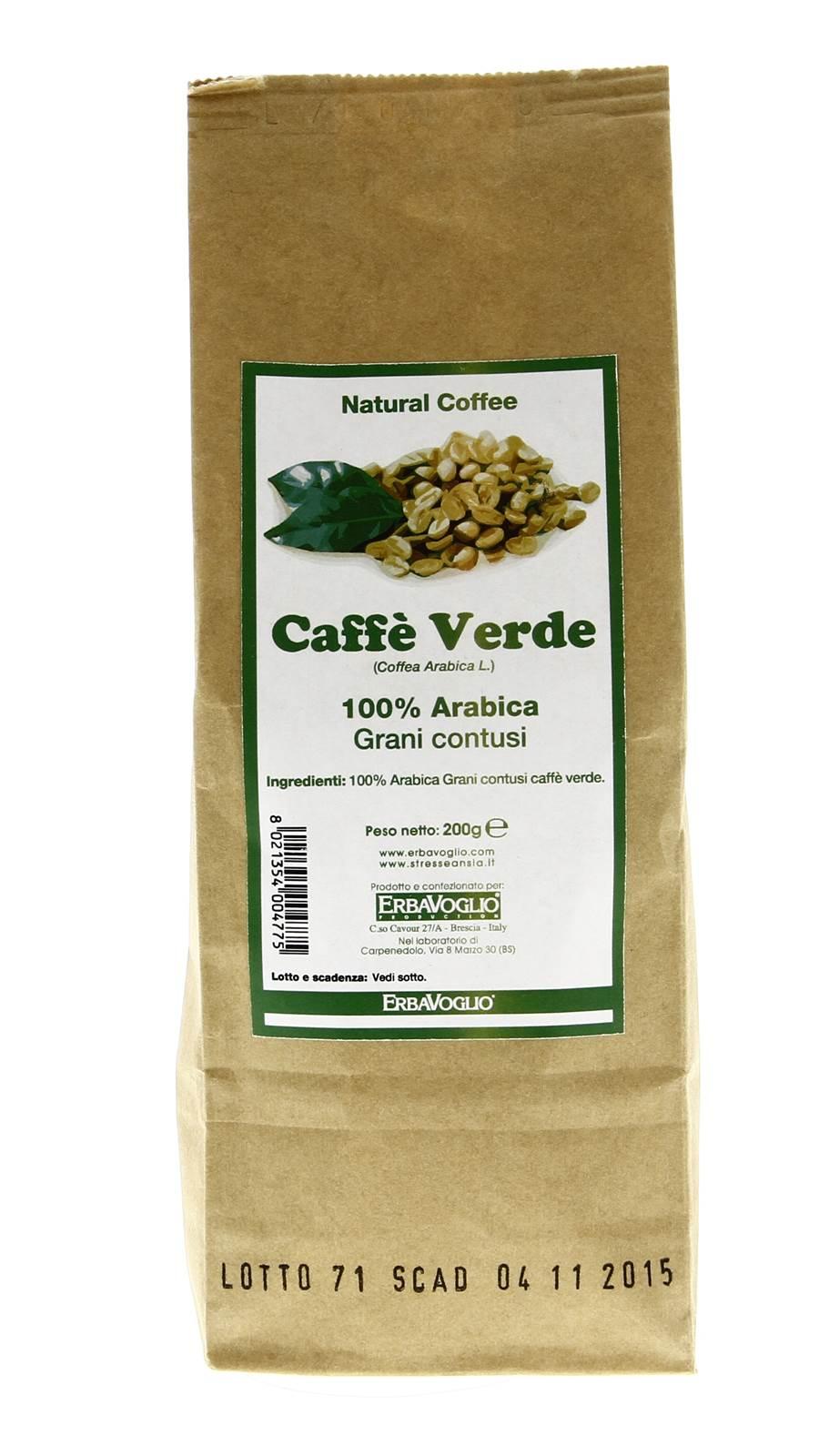 dieta a base di caffè verde in grani