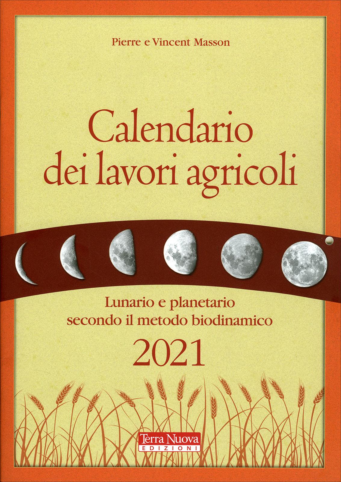 Calendario dei Lavori Agricoli 2021   Terra Nuova Edizioni
