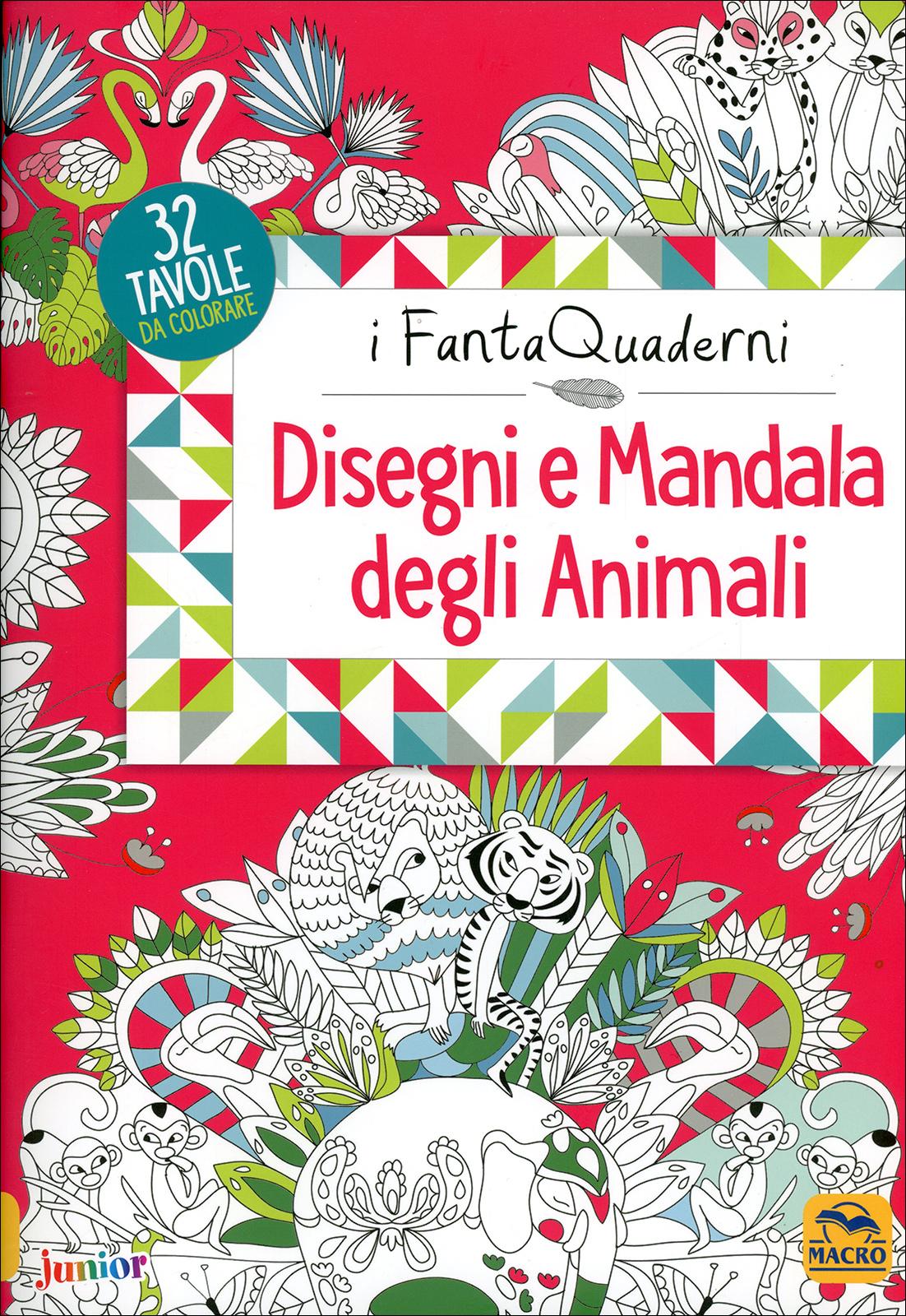 Disegni E Mandala Degli Animali Macro Junior Libro