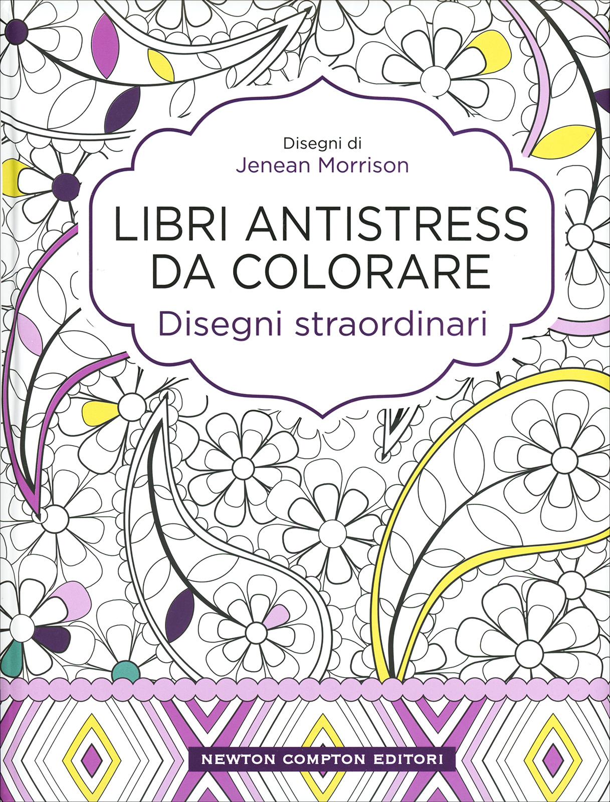 Libri Antistress Da Colorare Disegni Straordinari