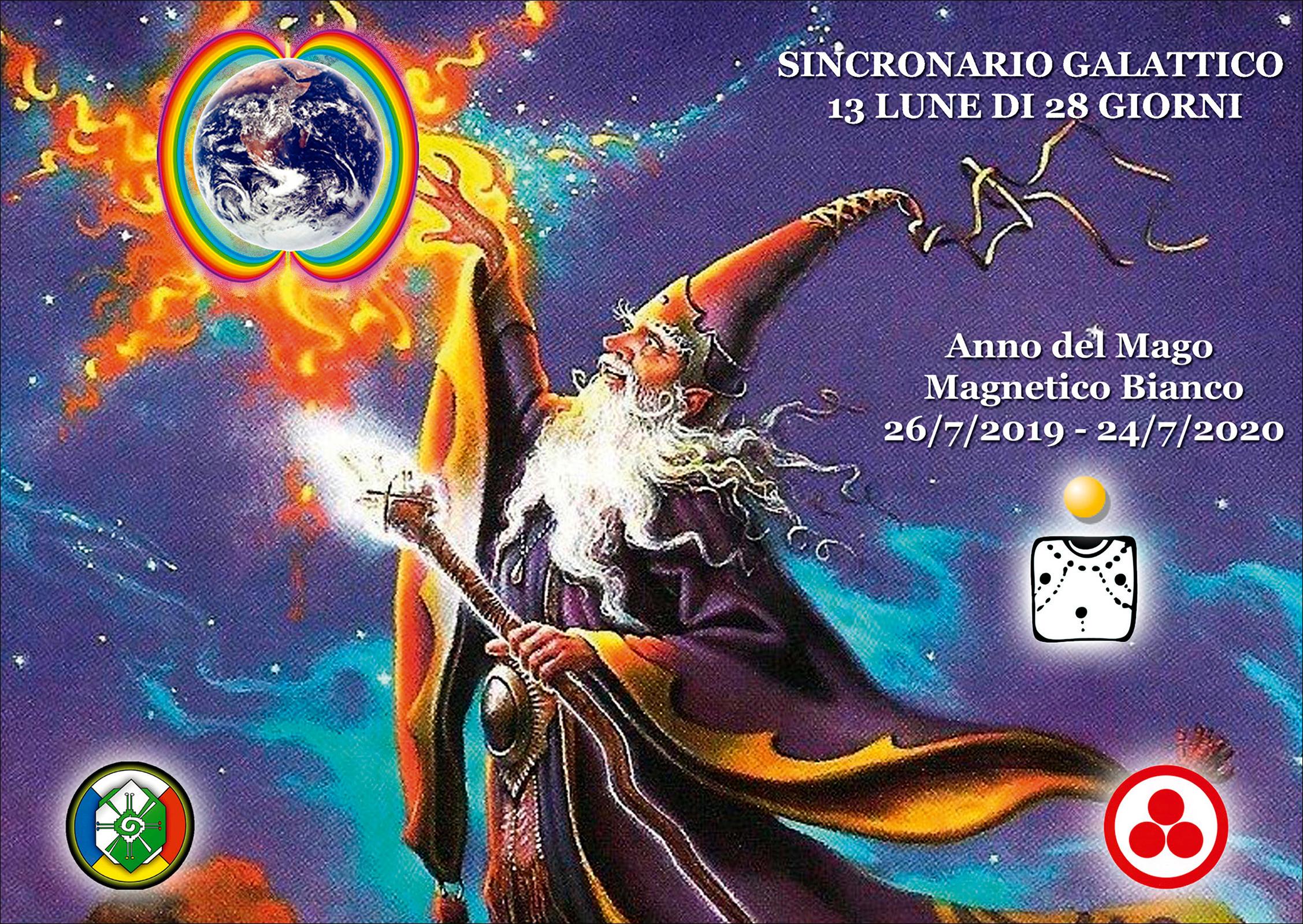 Calendario Solare 2020.Sincronario Galattico 2019 2020