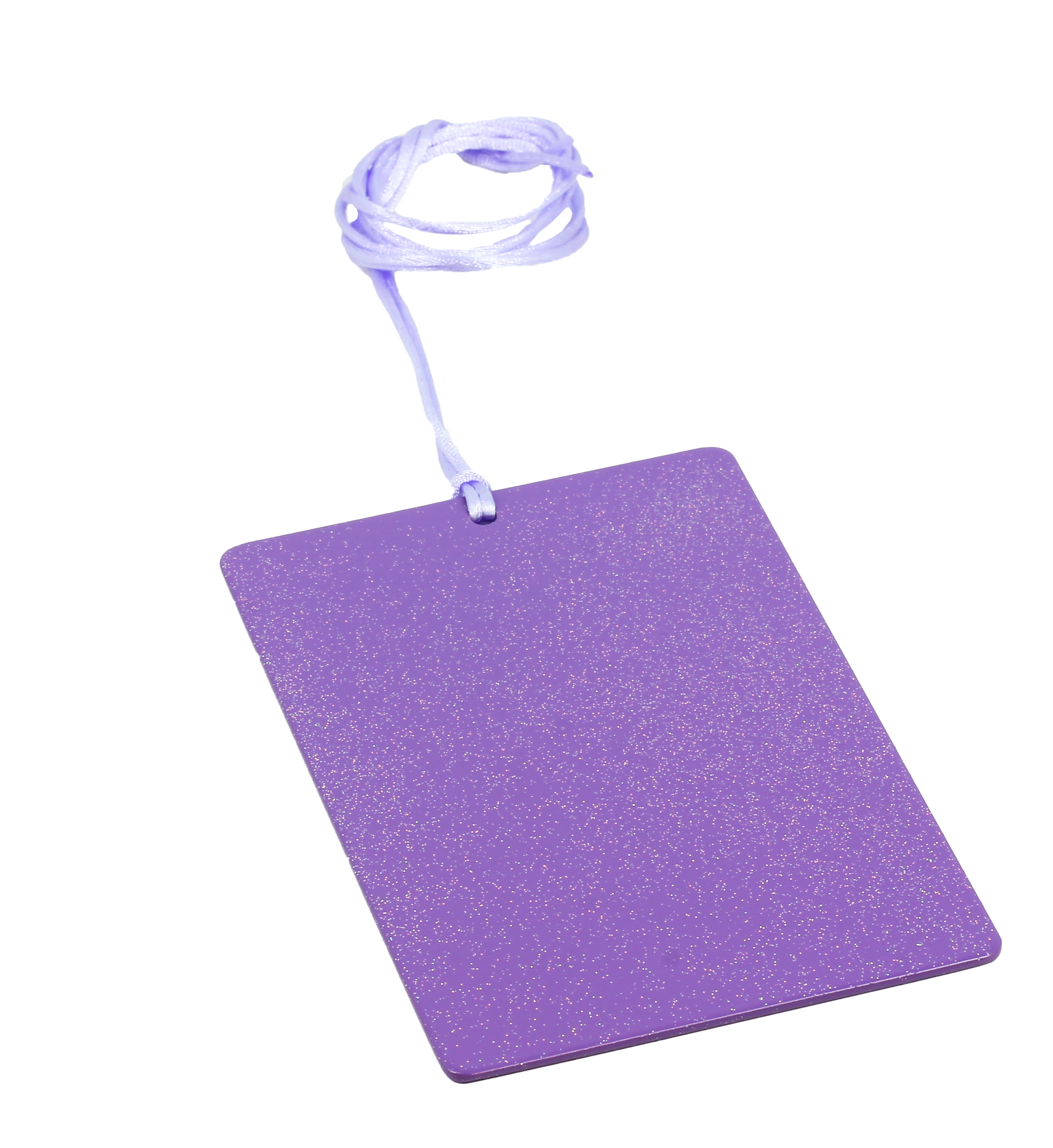Piastre Di Tesla Funzionano piastra di tesla purpurea sunny - rettangolare card