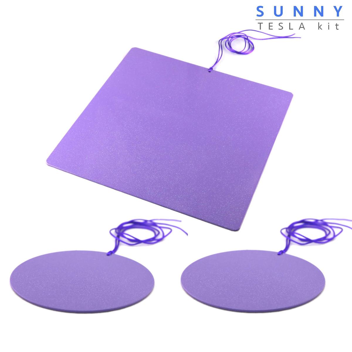 Piastre Di Tesla Funzionano sunny piastre di tesla purpuree - kit breakfast