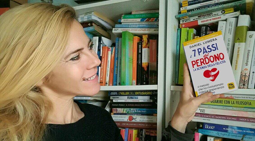 """Barbara ha intervistato Daniel Lumera, autore del libro """"I 7 Passi del Perdono""""."""