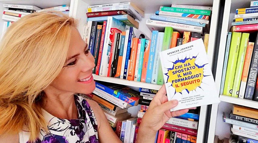 """Leggi l'intervista di Barbara a Spencer Johnson, autore del libro """"Chi ha Spostato il mio Formaggio""""."""