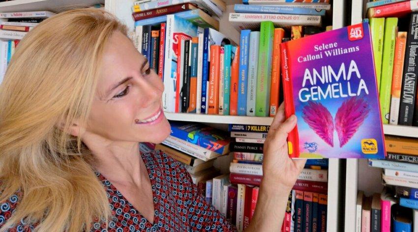 """Barbara ha intervistato Selene Calloni Williams, autrice del libro """"Anima Gemella""""."""